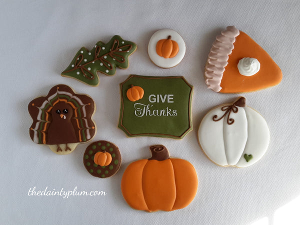 Thanksgiving Cookie Decorating Class