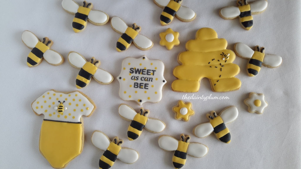 """Sweet As Can Bee"" Cookies"