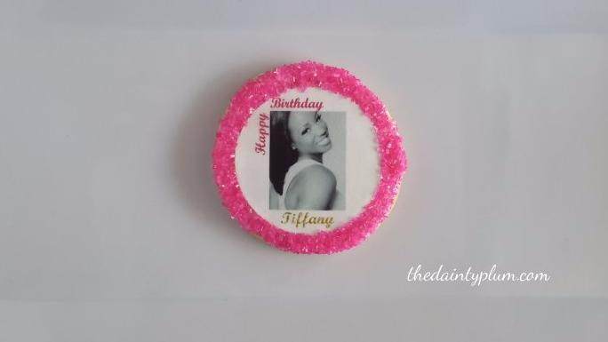 Photo Cookies (Round) - 12 Pcs