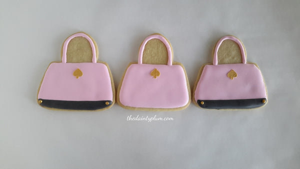 Handbag Cookies - 12 Pcs