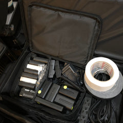 storage bag of camera batteries