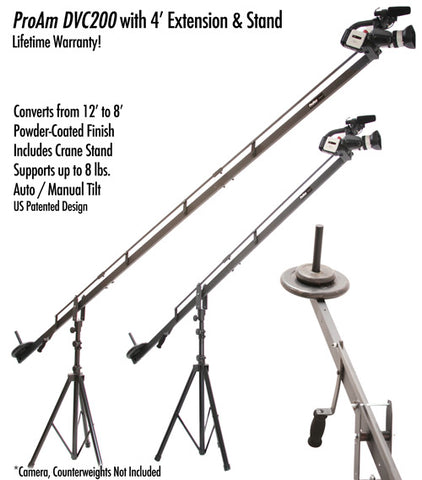Orion DVC200 12 ft Camera Crane Production Package