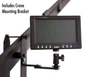 crane mounting bracket for lcd