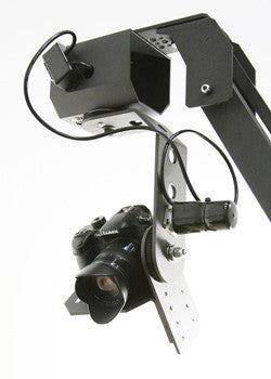 TigerTilt Pan Head Mounted to Orion DVC210 Camera Crane