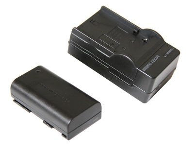Canon BP-915 Equivalent 2000mAh Battery & Charger use with Canon BP LCD Monitor Adapter Plate - PRODUCTS