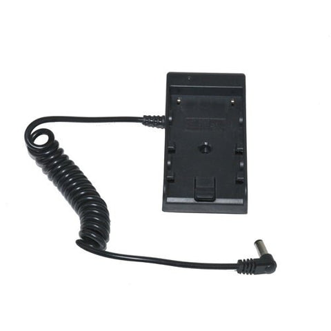Canon LP-E6 Series to LCD Monitor / LED Light Battery Adapter Plate Converts to 12V