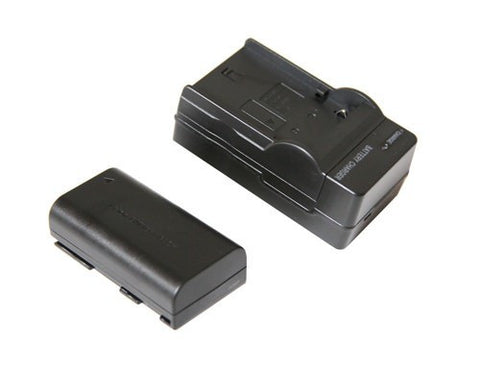 Canon LP-E6 Equivalent 2000mAh Battery & Charger for use with the Canon LP-E6 LCD Monitor Adapter Plate