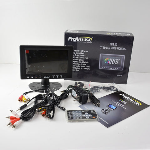 Used/Open Box 7 Inch Iris SD On-Camera / Crane LCD Monitor Kit (P7SD)
