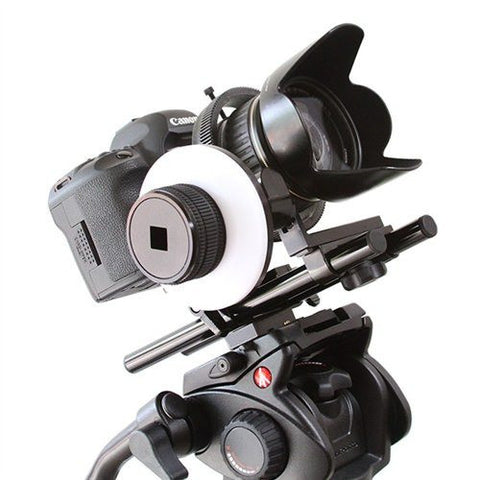 ProAm Pro Geared Follow Focus & Rails Kit