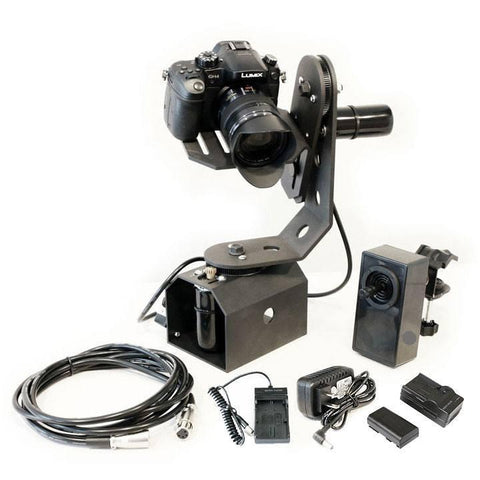 Motorized Joystick Remote Control Pan & Tilt Head - TigerTilt - PRODUCTS