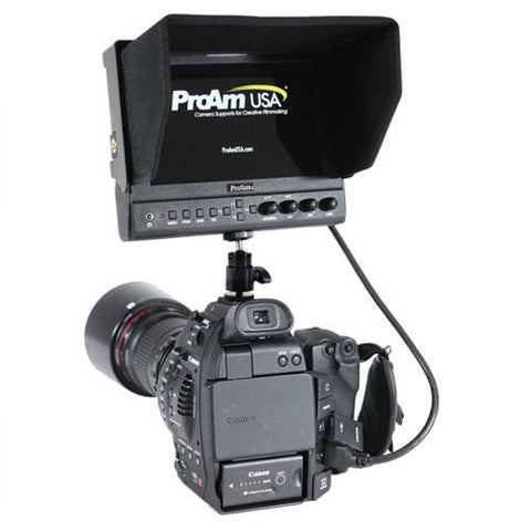 7 Inch Iris Pro HD On Camera/Crane LCD Monitor by ProAm USA (P7HD3)