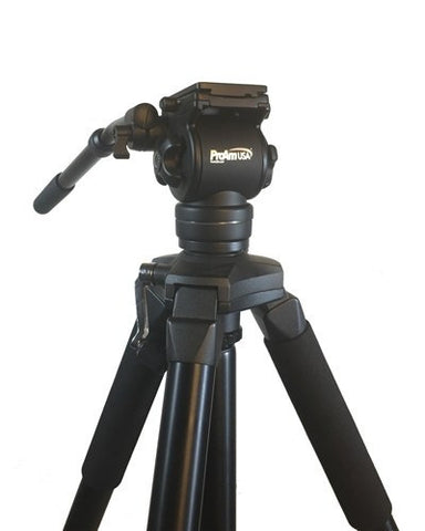 Pro Tripod and Fluid Head Set by ProAm USA