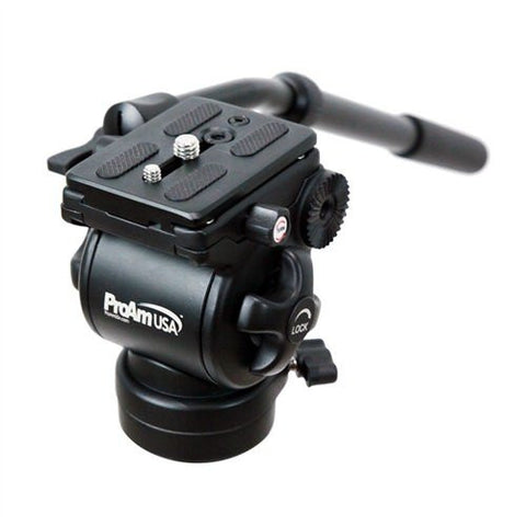 ProAm USA Professional Fluid Tripod Head - 3/8 Mount