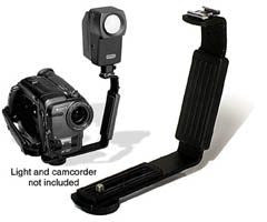 2-in-1 Accessory Shoe Video Bracket