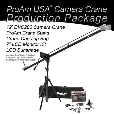 Orion DVC200 12 ft Camera Crane Production Package by ProAm USA