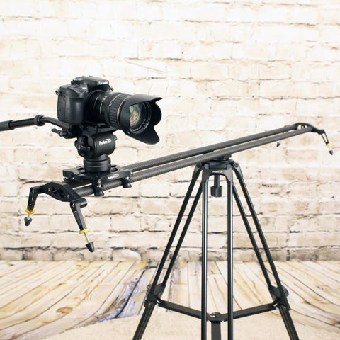 Open Box Camera Slider & Video Track Dolly, Slideways Pro 48 Inch
