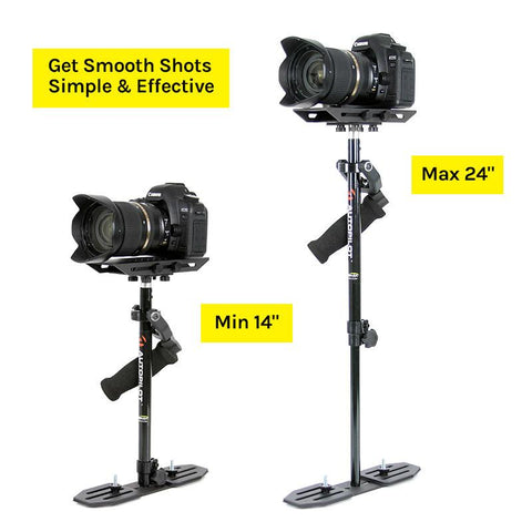 Autopilot DSLR and Video Camera Stabilizer and Bag Kit by ProAm USA