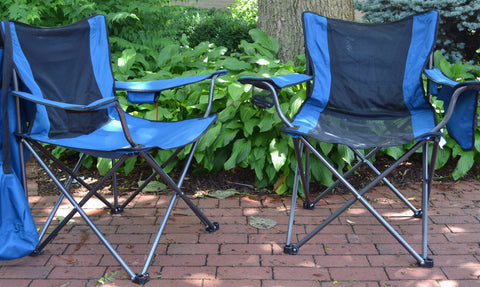 2 Pack - Breezy Buddy Chair Combo - Buy Two and Save! - Traveling Breeze and Breezy Buddy Fan-Cooled Products
