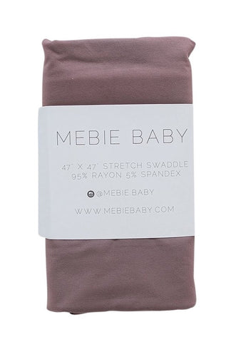 Plum Stretch Swaddle