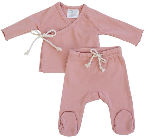 Rose Layette Set
