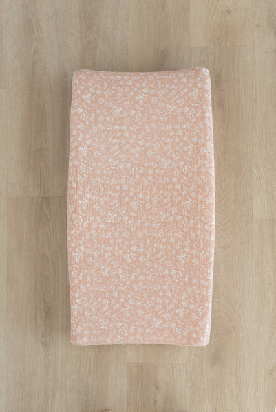 Wildflower Changing Pad Cover
