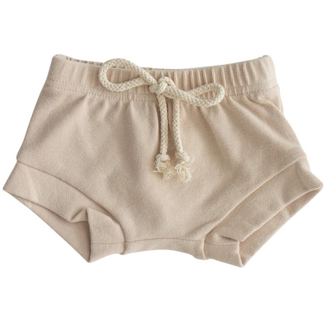 Oat Cotton Shorts