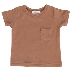 Honey Cotton Pocket Tee