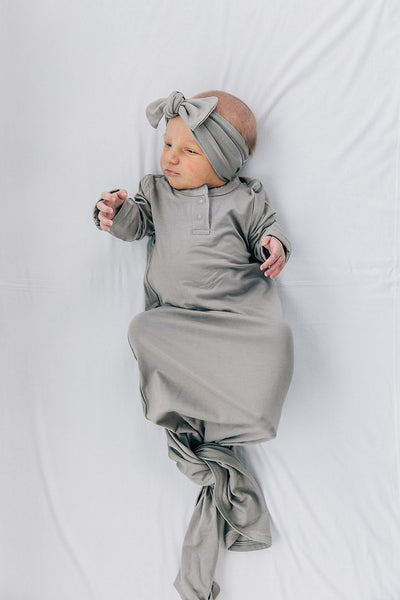 Mebie Baby Stone Knot Gown