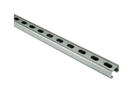 Unistrut Pre-Galvanised Channel 41mm x 41mm x 3m - P1000TX3