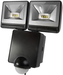 Timeguard 2x 8W LED + PIR Floodlight Black - LED200PIRB