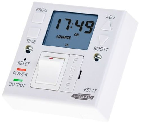 Timeguard 7 Day Fused Spur Timeswitch - FST77