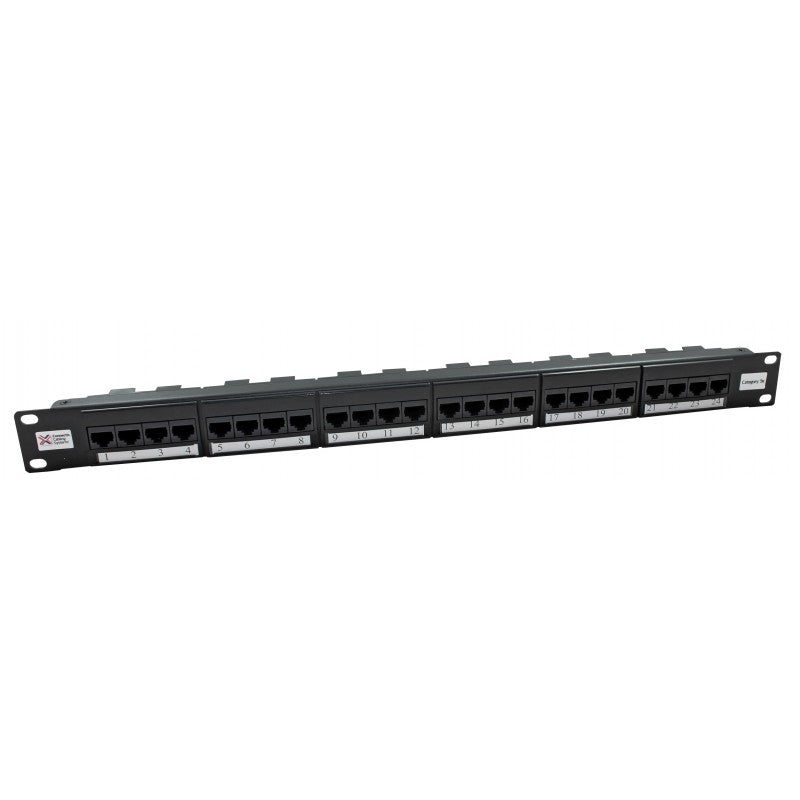 Connectix Cat5e UTP Elite 24 Port Patch Panel - CX-009-001-009-09
