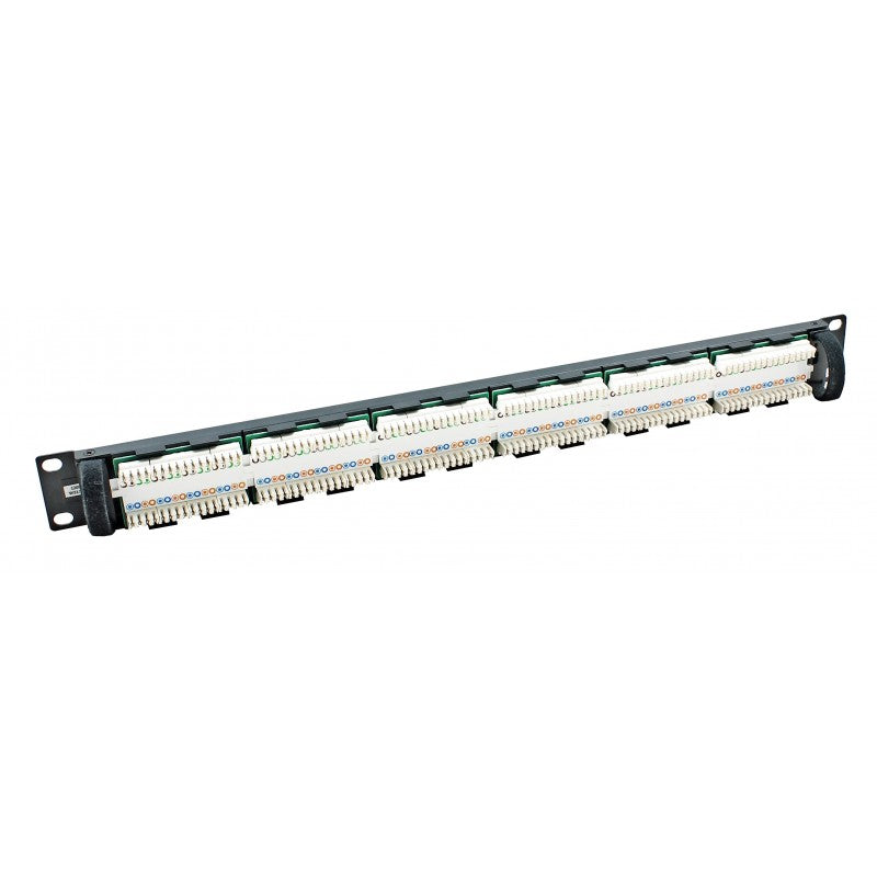 Connectix Cat6 UTP Elite 24 Port Patch Panel - CX-009-001-009-07