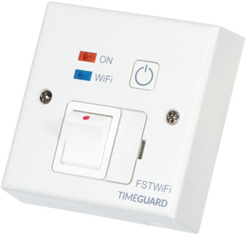 Timeguard Wi-Fi Controlled Fused Spur Timeswitch - FSTWIFI
