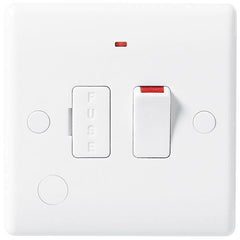 BG Nexus White 13A Switched + Fused Connection Unit + Neon + Flex Outlet- BG853