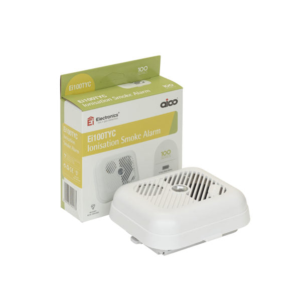 AICO Lith Battery +  Smoke Alarm  - EI100TYC