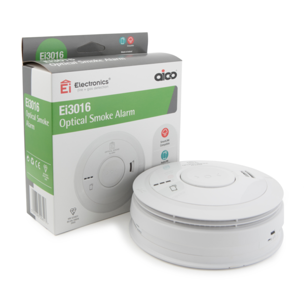 AICO Optical Mains Heat Alarm - EI3016
