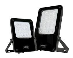 NVC Phoenix Floodlight 200W Black - NCU200/740