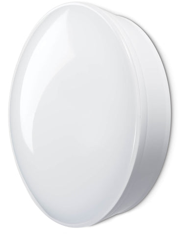 JCC RadiaLED Optimum 14W Bulkhead + Emergency White - JC23342WOP