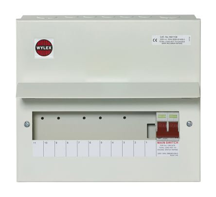 Wylex 100A 11 Way Consumer Unit - NM1106