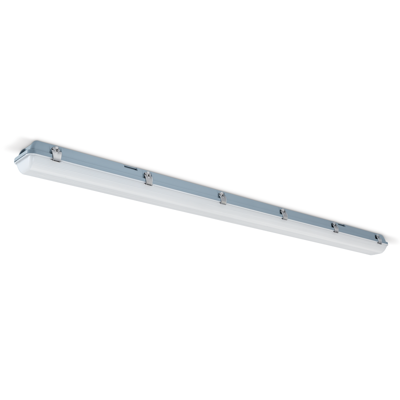 JCC ToughLED 57W LED Batten 5ft Twin White Opal IP65 - JC71556WOP