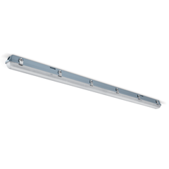 JCC ToughLED 27W LED Batten 5ft Single  + Emergency White Opal IP65- JC71555EM/WOP