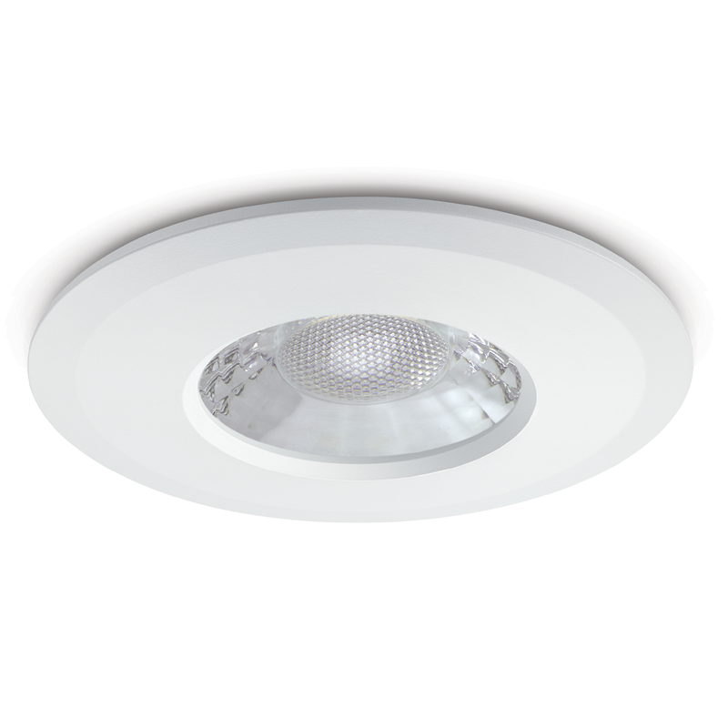 JCC V50 7.5W LED Fire-Rated Downlight IP65 No Bezel - JC1001/NB