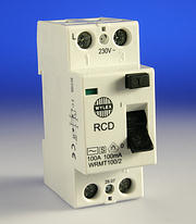 Wylex 100A 100mA RCD DP Time Delayed - WRMT100/2