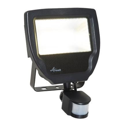 Ansell Carina 30W LED Floodlight + PIR Cool White - ACALED30/PIR