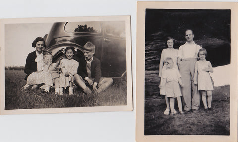 George Foster and family late 1940s early 1950s