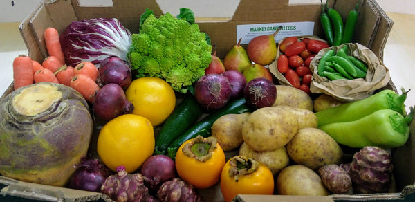 Large fruit and vegetable box Market Garden Leeds vegbox 3