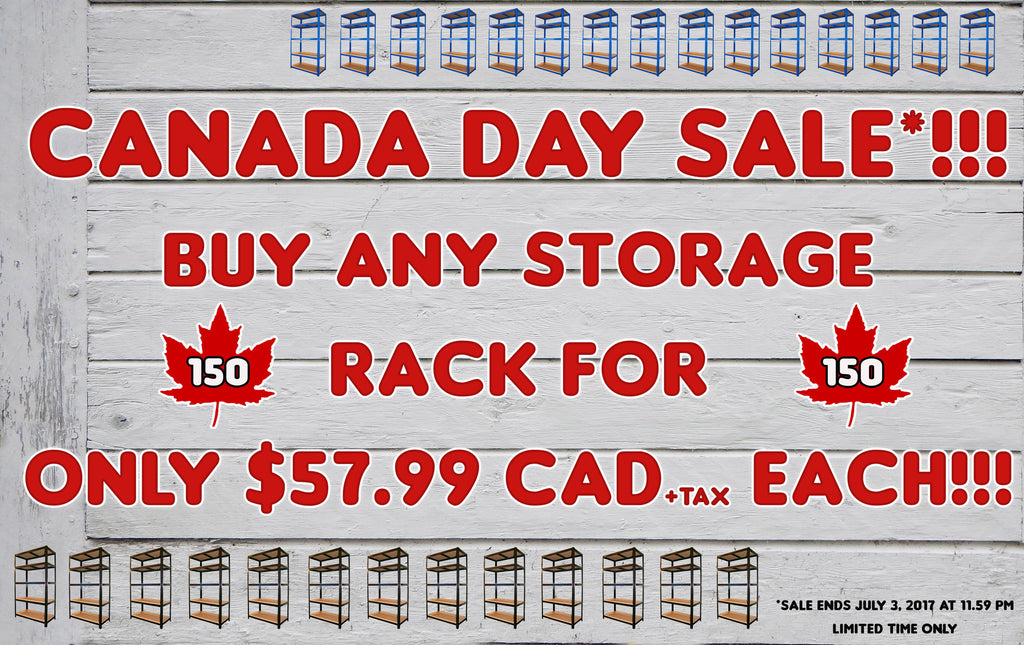 Canada Day Sale!