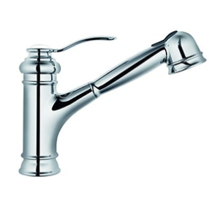 Single Handle Pull-Out Kitchen Faucet - KSK1001