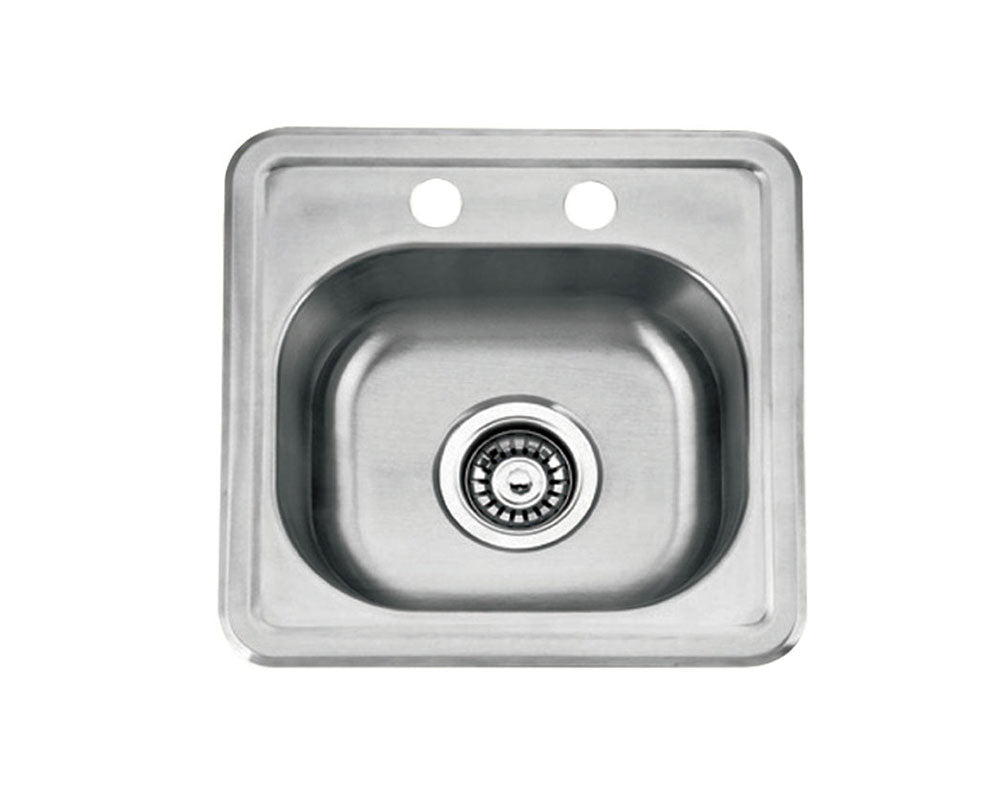 "Top Mount Bar Sink 15"" x 15"" KST15156"